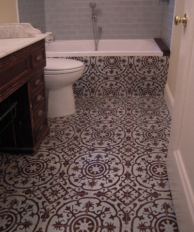 Ceila Reiss Interiors - CH140-2A Cuban Cement Tile pattern