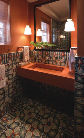 Cuban Tiles Create a Tropical Splash
