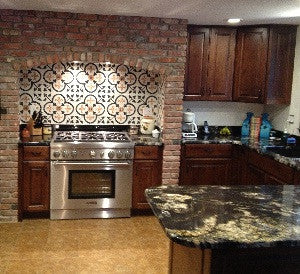 Custom Cement Tile Design Adds Personalized Touch