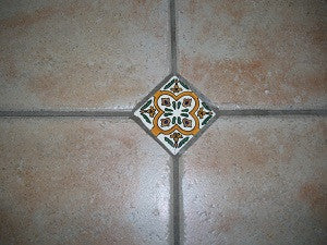 Decorative Spanish Ceramic Tile Inserts