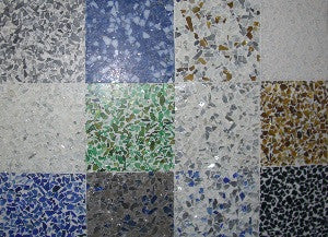 Ecotiles use Recycled Material.