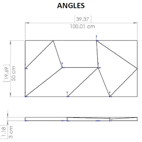Elevations Angles Dimensional Drawing