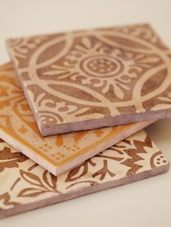 Encaustic tile made in the United States