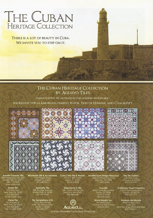 Florida Design Volume 17 No 4 Features Cuban Heritage Cement Tile