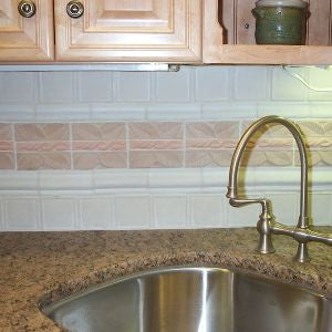 Hispaniola Cement Tile Backsplash