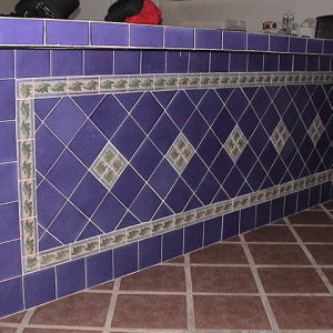 Spanish Leaf Design On Bar