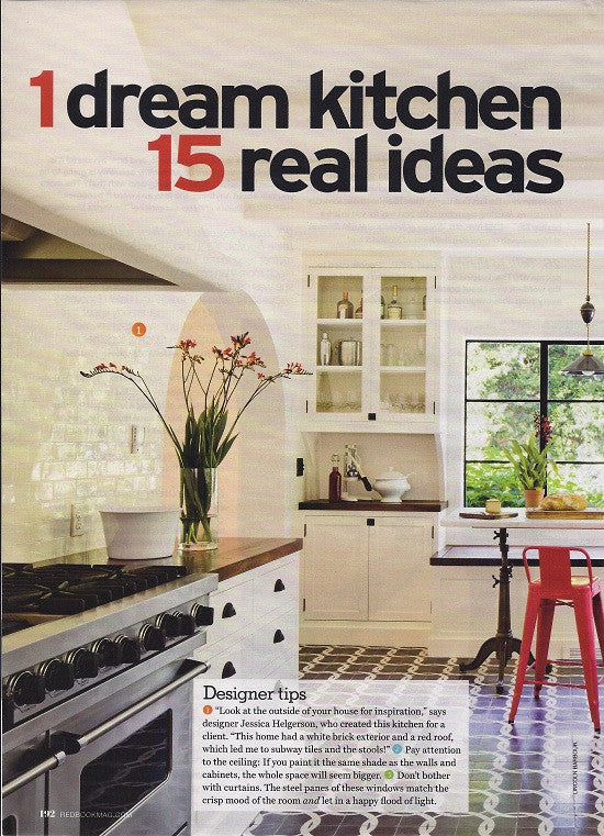 Redbook, April 2015, 1 Dream Kitchen, 15 Real Ideas, 1