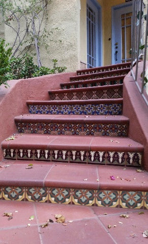 Spanish Revival Look with Malibu Decorative Tiles