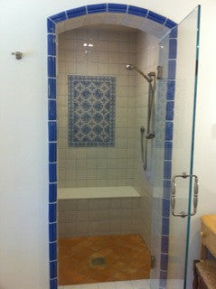 Spanish Tile Creates Classic Look for Bath