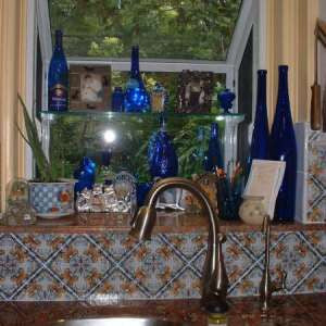 Teruel Spanish Tile for a Vibrant Kitchen Backsplash