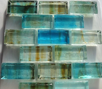 Glass ancent tile