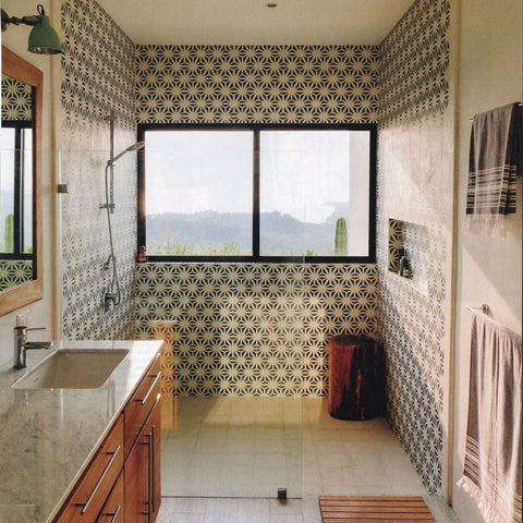 Tunis Cement Tile Pattern from the Classic Collection