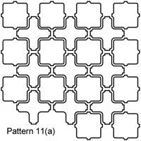 arabesque Tangier Pattern