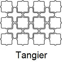 Arabesque Tangier Line Drawing