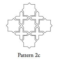 arabesque pattern aragon