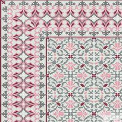Cuban Heritage Design 220 1B Encaustic Cement Tile Rug