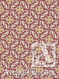 Cuban Heritage Design 240 1A Encaustic Cement Tile Rug
