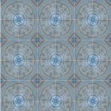 "Cuban Heritage Design 140 4B 8""x8"" Encaustic Cement Tile"