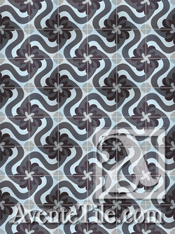 Cuban Heritage Design 150 4A Encaustic Cement Tile Rug
