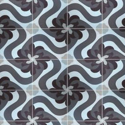 "Cuban Heritage Design 150 4A 8""x8"" Encaustic Cement Tile"