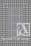 Cuban Heritage Design 220-3B Encaustic Cement Tile Rug