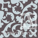 "Cuban Heritage Design 220 3B 8""x8"" Encaustic Cement Tile - Field (1 Tile)"