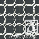 Mission Aros 2 Encaustic Cement Tile Rug (16 tiles)