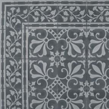 "Cuban Heritage Design 230 3A 8""x8"" Encaustic Cement Tile"