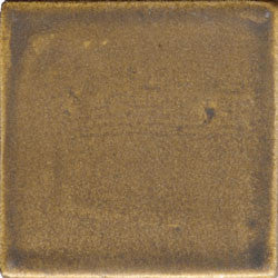 Yucatan Olive Drab Hand Painted Plain Ceramic Tile