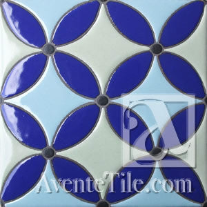 Geometrical Circles B Ceramic Tile