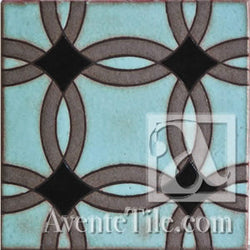 Geometrical Rings C Ceramic Tile