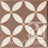 Geometrical Circles C Ceramic Tile