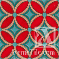 Geometrical Petals F Ceramic Tile