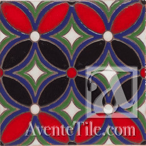 Geometrical Petals G Ceramic Tile