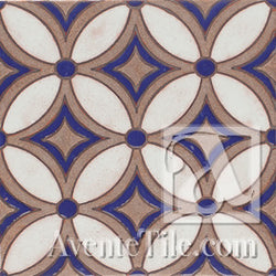 Geometrical Petals H Ceramic Tile