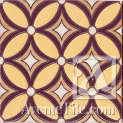 Geometrical Petals J Ceramic Tile