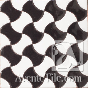 Geometrical Weave C Ceramic Tile