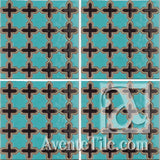 Geometrical Aragon 2CC Ceramic Tile Grouping