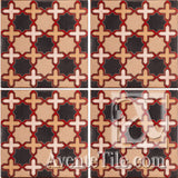 Geometrical Aragon 2CD Ceramic Tile Grouping