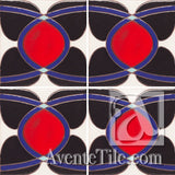 Geometrical Ellipse C Ceramic Tile Grouping