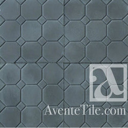 "Textured Octagonal 10"" x 10"" Encaustic Cement Tile"
