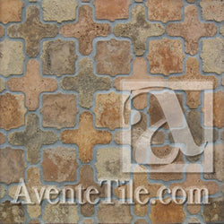 Arabesque Tangier Normandy Cream Cement Tile