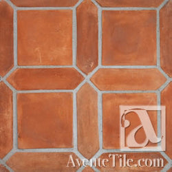 Arabesque Pickets 3x11 Cement Tile Mission Red