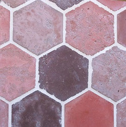 "Arabesque Douro 14"" Hexagon Cement Tile"