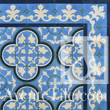 "Traditional Bayahibe Cement Tile 8"" x 8"" Cement Tile"