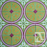"Traditional Bonao Cement Tile 8"" x 8"" Cement Tile"