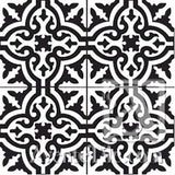 "Traditional Neiba C 8"" x 8"" Cement Tile"