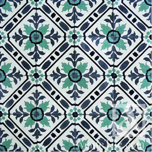 "Traditional Toscana Cement Tile 8"" x 8"" Cement Tile"