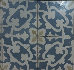 "Traditional Paradise 8"" x 8"" Cement Tile"