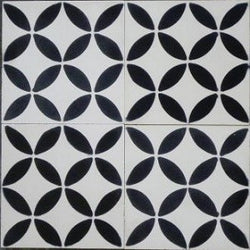 "Geometric Geo 10C 8"" x 8"" Cement Tile"